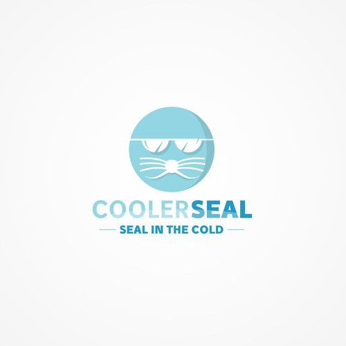 Air conditioning design with the title 'CoolerSeal logo'
