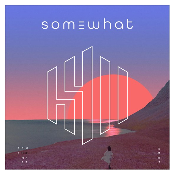 Rap logo with the title 'SOMEWHAT - MUSIC PRODUCER'