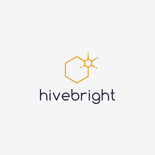 Beehive logo with the title 'hivebright'