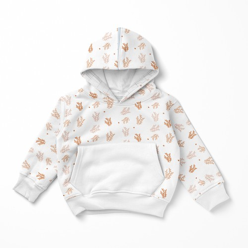 Coral design with the title 'kids pattern'