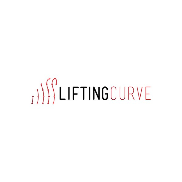 Weightlifting logo with the title 'Simple logo design of weightlifting education company'