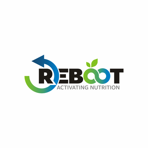 Recovery logo with the title 'REBOOT - Activating Nutrition'