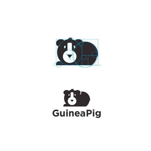 Fibonacci logo with the title 'GuineaPig Logo'
