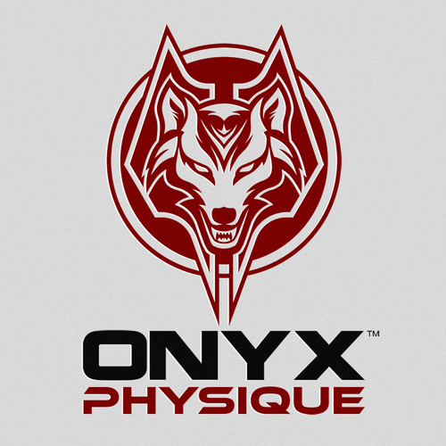 Athletic club logo with the title 'Onyx Physique'