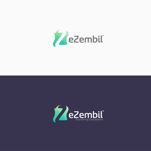 Z logo with the title 'Logo design for eZembil'