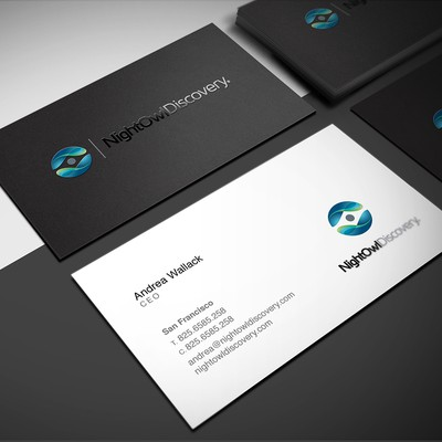 BUSINESS CARD DESIGN for nightowldiscovery