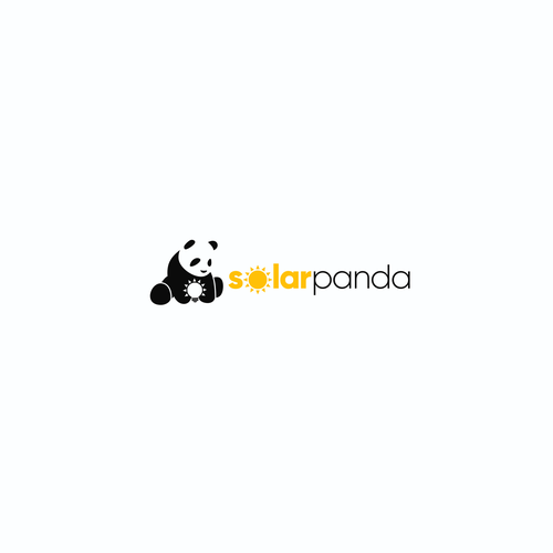 Solar energy design with the title 'Solar Panda'