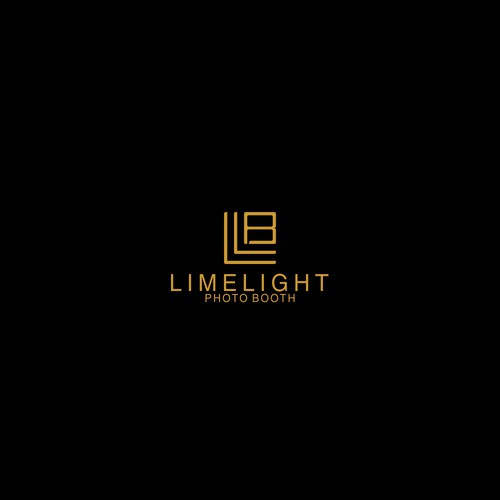 Photobooth logo with the title 'LIMELIGHT'
