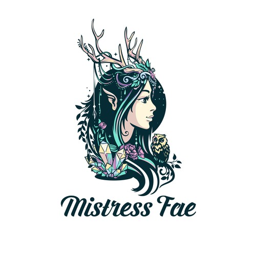 Magic design with the title 'Mistress Fae'