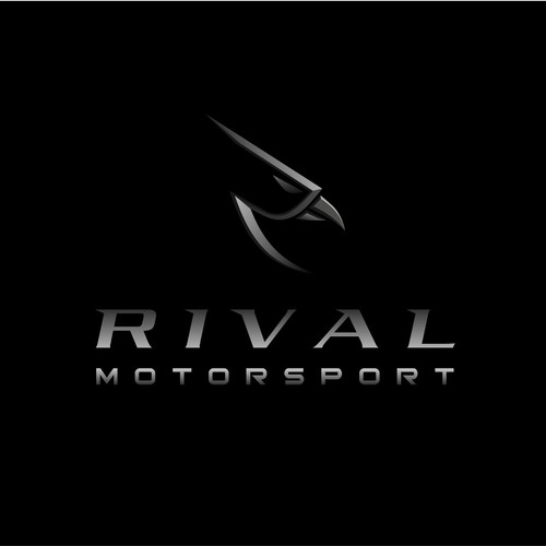 Motocross design with the title 'Logo concept for Rival Motorsport'