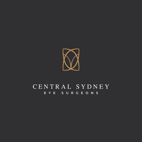 Optometry logo with the title 'Central Sydney - eye surgeons'