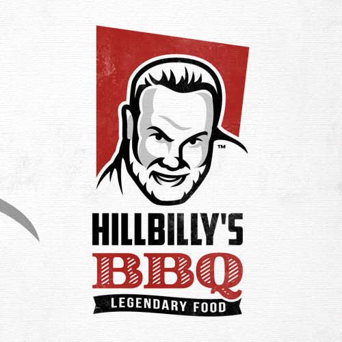 Beard logo with the title 'BBQ'