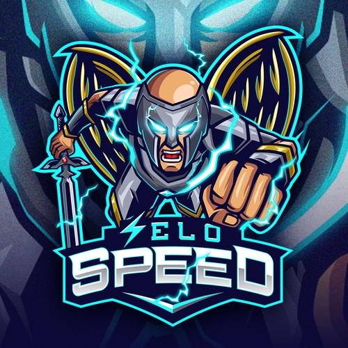 Esports logo with the title 'seloSPEED'