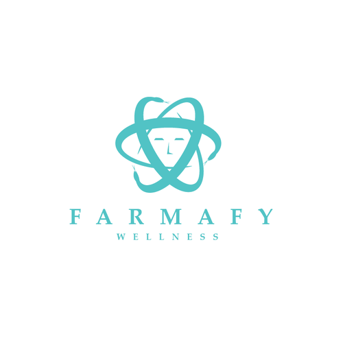Wellness logo with the title 'Farmafy Wellness'