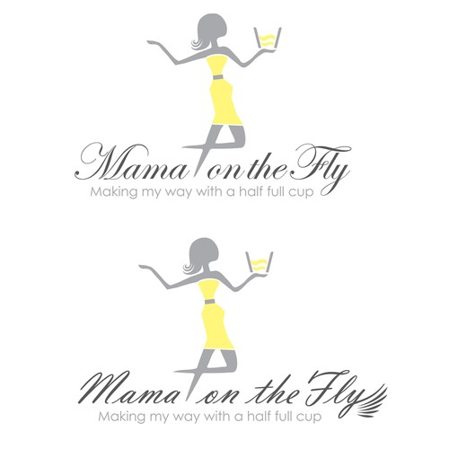Mom and mama logo with the title 'New logo wanted for Mama on The Fly'
