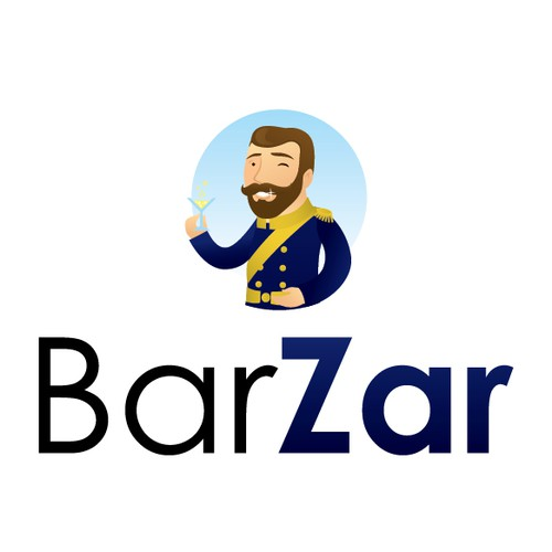 Smile logo with the title 'BarZar'