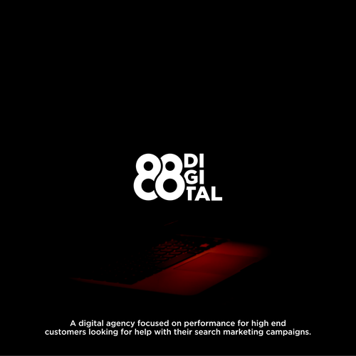Marketing brand with the title '88 digital'
