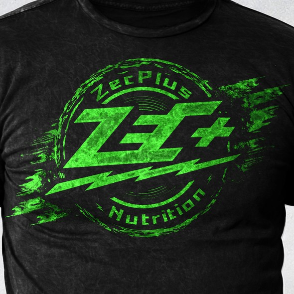 Rustic t-shirt with the title 'ZecPlus'