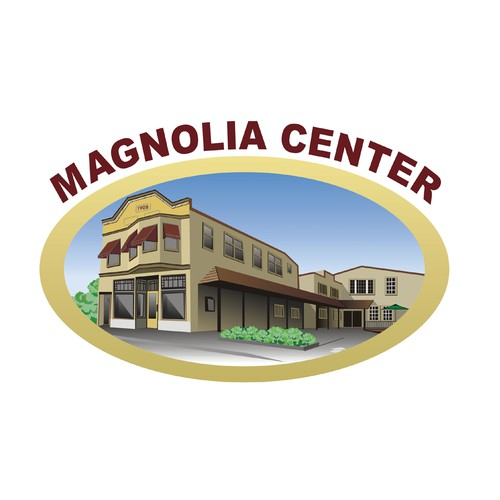 Win logo with the title 'Magnolia Center'