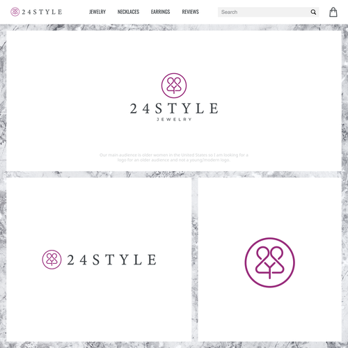 Jewel logo with the title '24 Style'