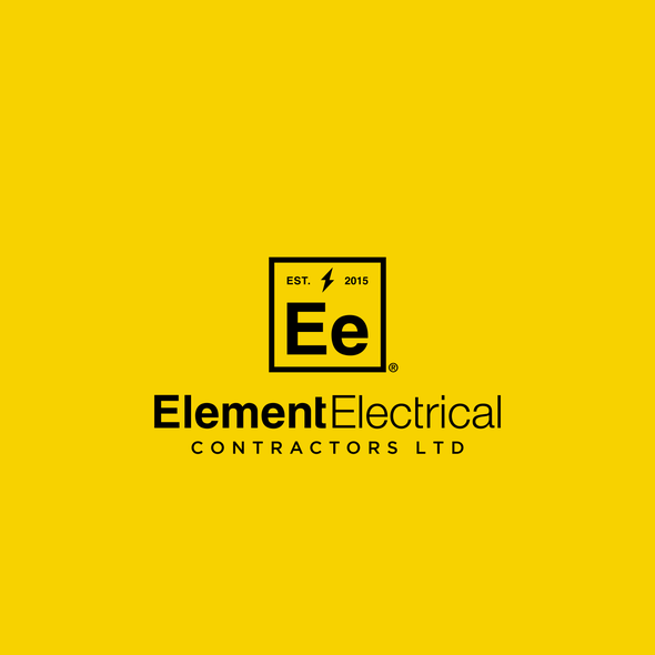 Element logo with the title 'Element Electrical Logo'