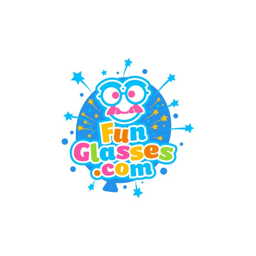 Invitation logo with the title 'Funglasses.com'