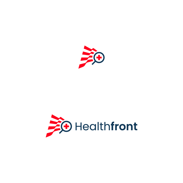 Magnifying glass logo with the title 'Healthcare comparison tool'