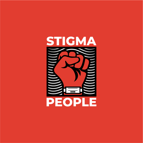 Mohawk logo with the title 'Logo for Stigma People'