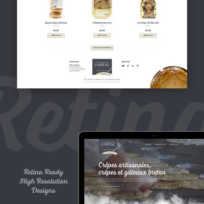 Creative design for a food industry