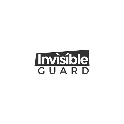 Guard logo with the title 'Bold logo for Invisible Guard'