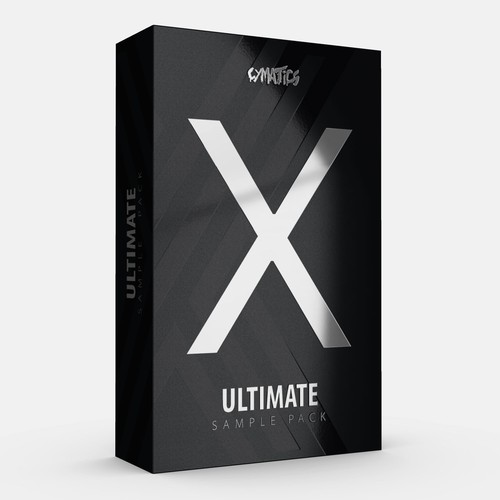 X design with the title 'Product Box Design'