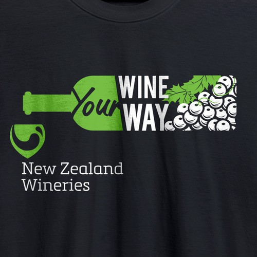 Food t-shirt with the title 'Wineyard T-shirt'