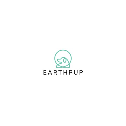 Puppy logo with the title 'EarthPup'