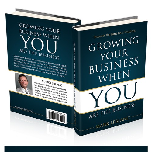 Simple book cover with the title 'Growing Your Business When You Are the Business'