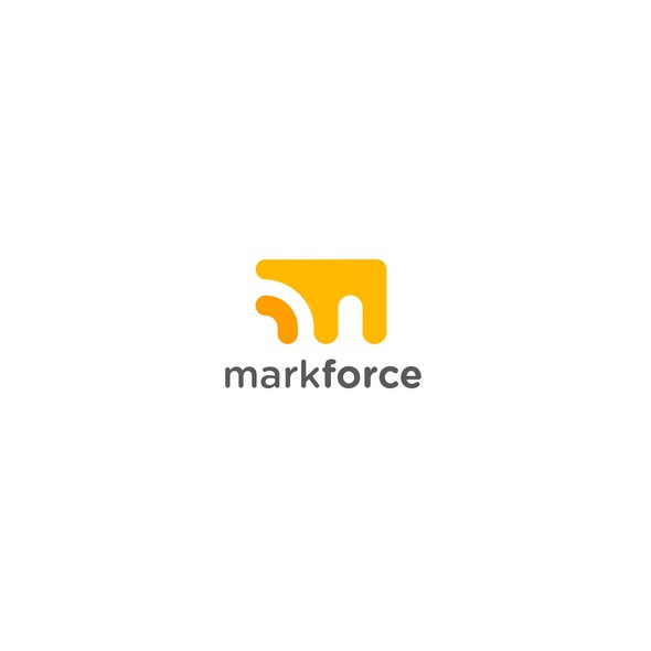 Font design with the title 'Mark Force'