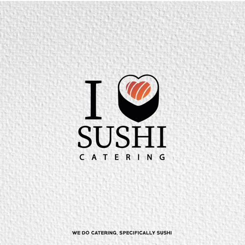 Sushi design with the title 'Logotype'