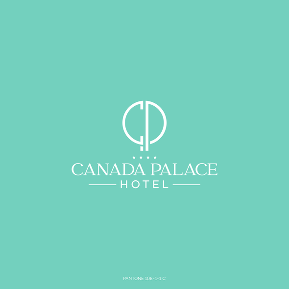 Hotel design with the title 'Logo Hotel Canada Palace'