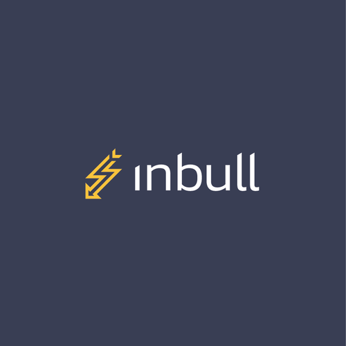 Speed design with the title 'Inbull Logo'