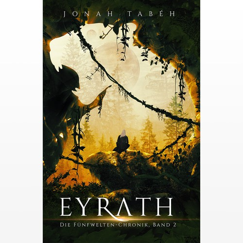 Galaxy design with the title 'Eyrath (Book 2)'