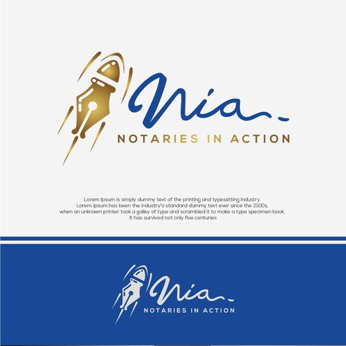 Rocket brand with the title 'Notaries in Action'