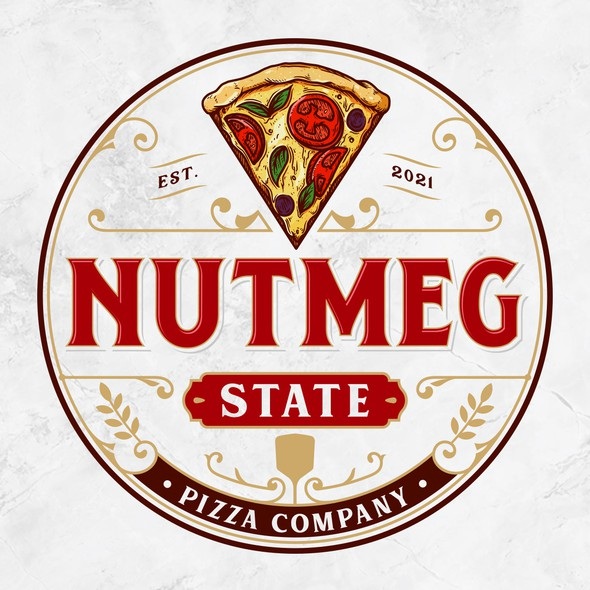 District logo with the title 'Nutmeg State Pizza Co'
