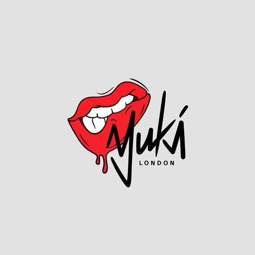 "Urban art design with the title 'Urban logo for streetwear fashion brand ""Yuki"".'"