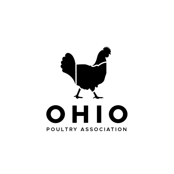 Ohio logo with the title 'Logo design for Ohio Poultry Association'