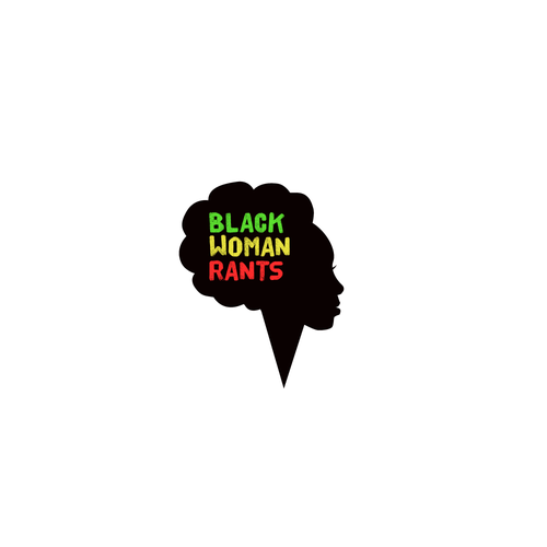 African American logo with the title 'Logo for Black woman rants'