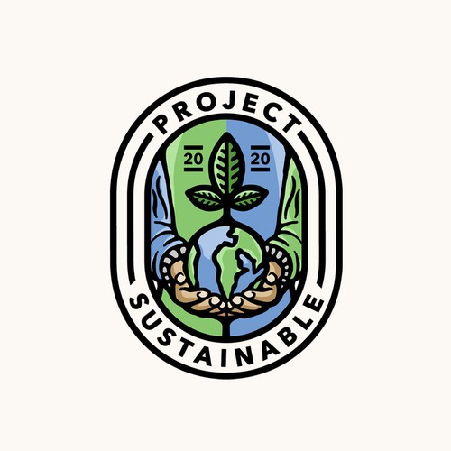 Green logo with the title 'Project Sustainable'