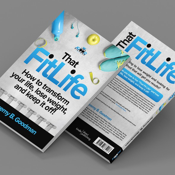 Wellness design with the title 'That Fit Life, Health & Fitness Book'
