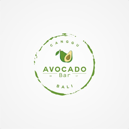 Avocado logo with the title 'avocado bar'