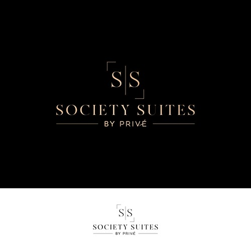 Suites logo with the title 'Salon Studios Logo'