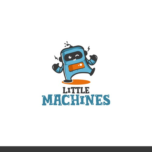 IT logo with the title 'Little Machines'