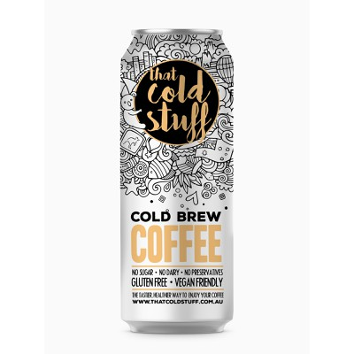 Cold Coffee Label